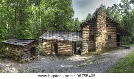 Elijah Oliver Log Cabin, Great Smoky Mountains National Park