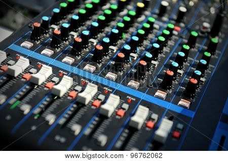 Professional Sound Console