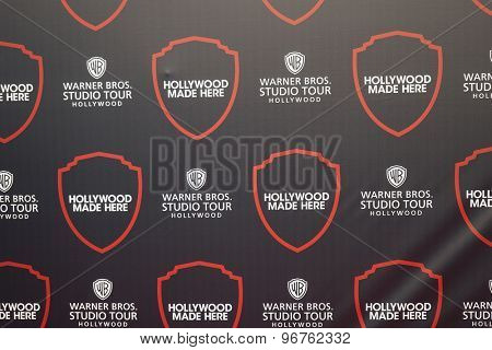 BURBANK - JUL 14: Logo, Hollywood Studio Tour at the Warner Bros. Studio Tour Hollywood Expansion Official Unveiling, Stage 48: Script To Screen at WB Studios on July 14, 2015 in Burbank, CA