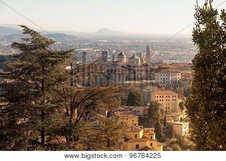 Aerial View Of Bergamo