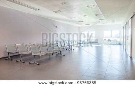 Empty And Clean Waiting Room