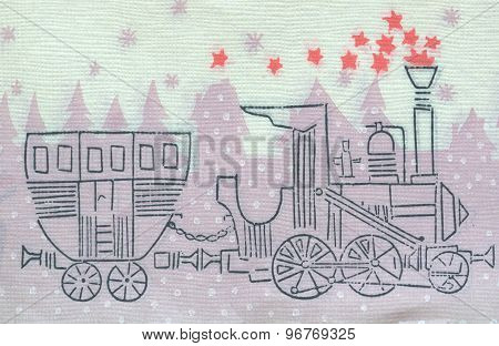Vintage napkin background paper texture