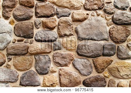 brown stone wall texture