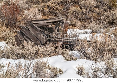Fallen Outhouse