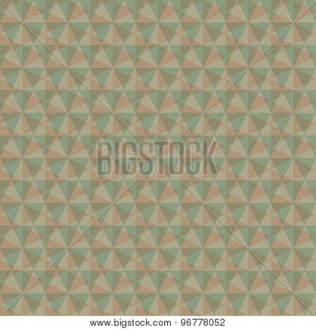 creative retro triangle overlay pattern