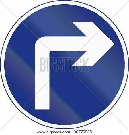 Turn Right Ahead In Ireland