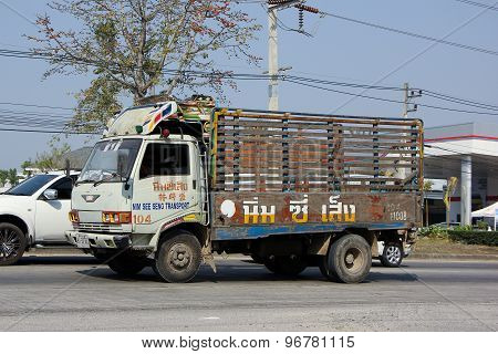 Truck of Nim See Seng Transport