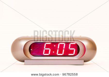 Digital Watch 6:05