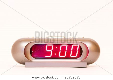 Digital Watch 9:00