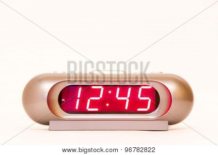 Digital Watch 12:45
