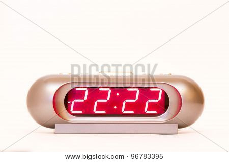Digital Watch 22:22