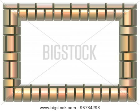 Picture Frame Generated Isolated Texture