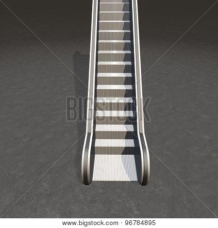 Escalator Career And Progress Concept