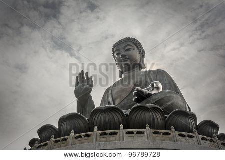 Tian Tan Buddha In Lantau Island, Hong Kong