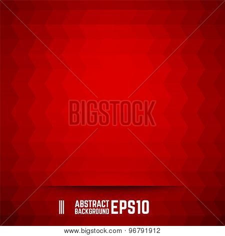 Red Abstract Rhombus Background