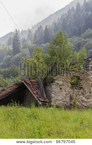 Disused House In The Mountain