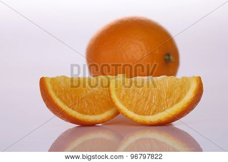 One Orange And Lobules
