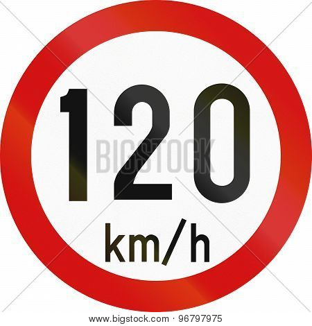 Speed Limit 120 In Ireland