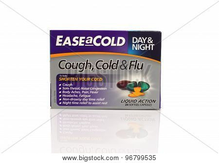 Ease A Cold Day And Night Cough Cold And Flu Capsules