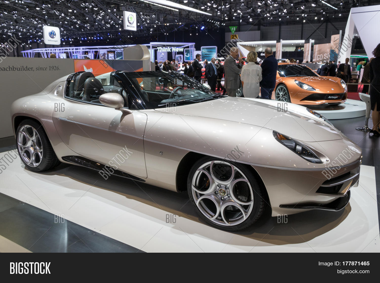 Alfa Romeo Disco Volante Price >> Touring Milano Alfa Romeo Disco Image & Photo | Bigstock