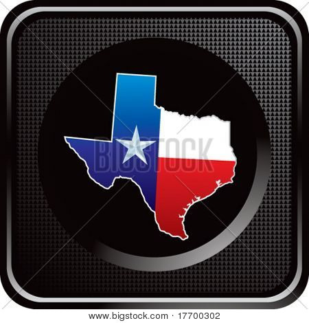 lonestar state on black web button
