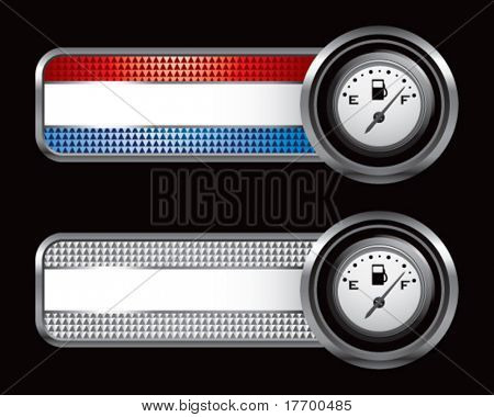 gas gauge on specialized banners