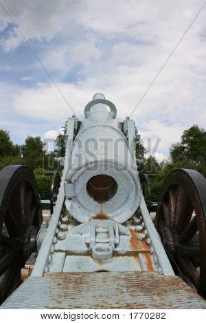 Gun At Verdun, France