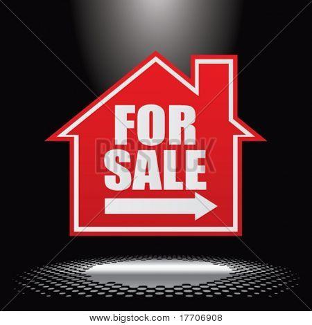 casa para venda sob holofotes