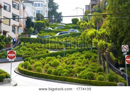 View Of Lombard Street