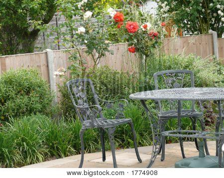 English Garden Through Windo3