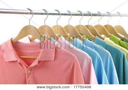 clothes hanger with t-shirt