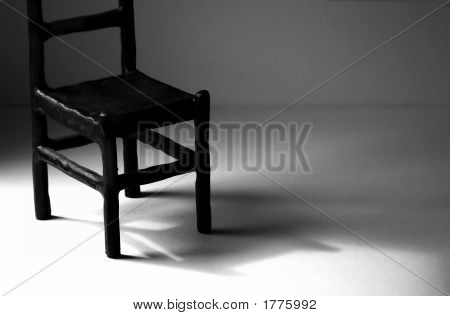 Empty Metal Chair