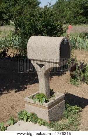 Closeup Of A Fancy Mailbox