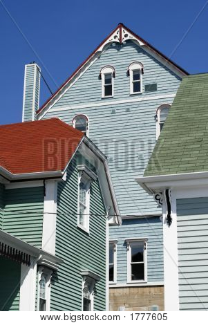 Colorful Lunenburg Architecture