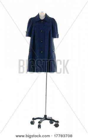clothing hanging as display