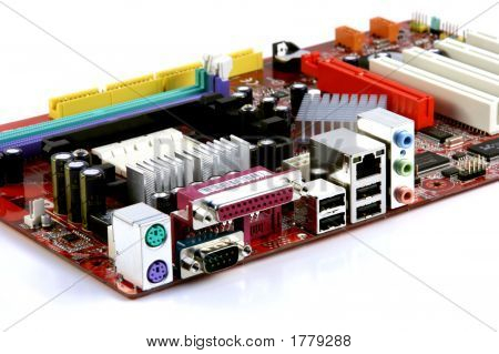 Colorful Computer Mainboard