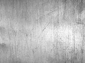 Worn Steel Texture Or Metallic Scratched Background poster