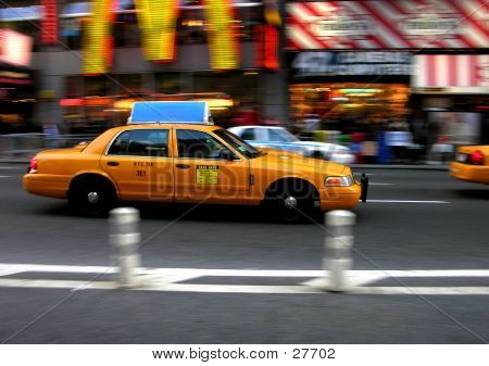 Times Square Cab
