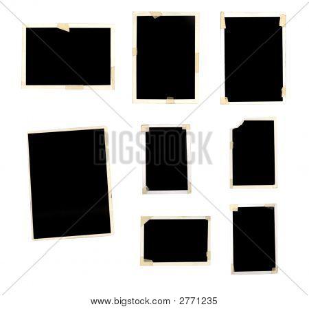 Grunge Photo Frames