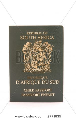 South African Child Passport