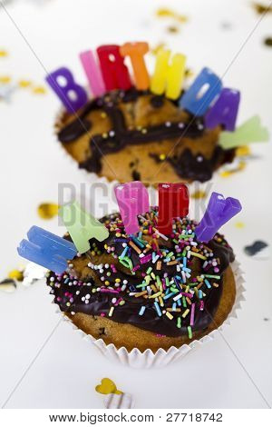 Cupcake birthday surpris