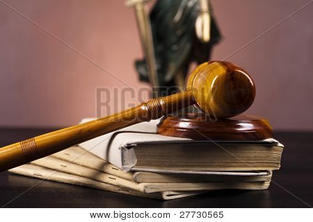 Statue of lady justice, law