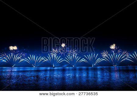 Spectacular fireworks