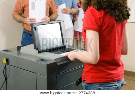 Voting On Optical Scanner