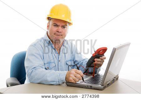 Repairman Confused