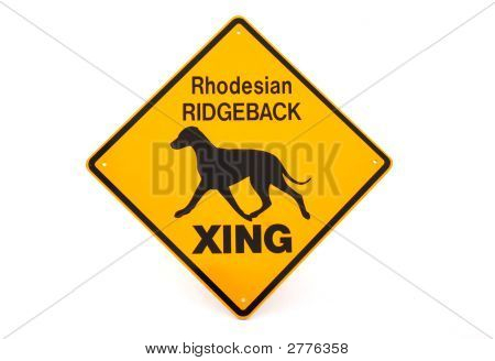Signo de Ridgeback de Rodesia
