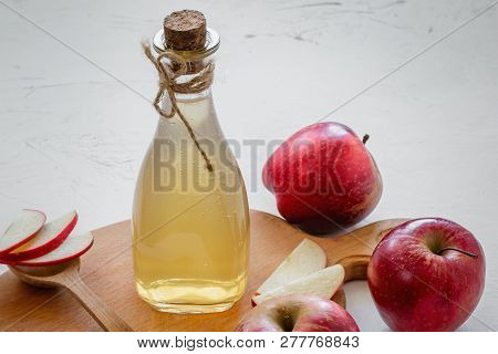 Apple Vinegar Bottle Of Apple