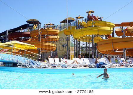 Pool In Aqua Park