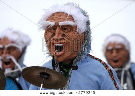 Masquerades At Carnival