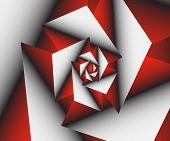 Tech Spiral Hi-tech Graphics Vector Illustration  Vector Futuristic Design poster